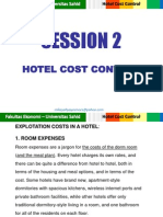 cost control hotel