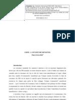 CHINE   L'OUVERTURE REVISITEE - Pierre SALAMA