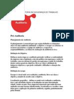 ETAPAS DA AUDITORIA EM SEGURANÇA DO TRABALHO
