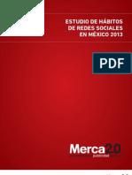 Estudio de hábitos de redes sociales en México-2013