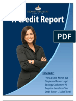 Credit Restoration Flyer
