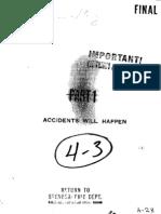 Accidents Will Happen (1937 Shooting Script)