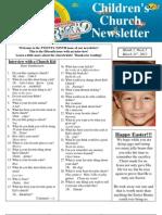 Newsletter 3-31-13