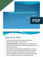 Programacion  Multihilos