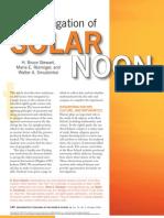 SolarNoonPiontek
