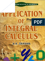 Aplication of Integral Calculus