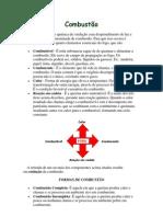 Combustão-COMBÚSTINVEL-COMBURENTE E FONTE DE CALOR