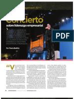 Alondra de La Parra - Concierto Sobre Liderazgo Empresarial