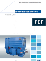 WEG Three Phase Induction Motors Master Line 50019089 Brochure English