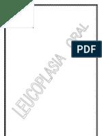 Leucoplasia Oral