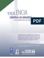Violencia contra las mujeres en el ejercicio de sus derechos políticos