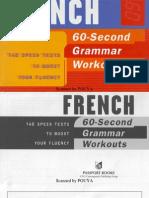 60 Second French Grammar Workout PDF