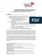 Notes on Sources and Method of Collection of Figures Presented in the Report