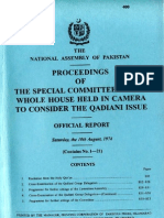 1974 National Assembly Official Report on Qadiani Issue 6 of 21