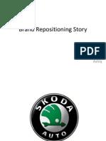 Brand Repositioning Story skoda