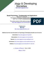 Edwards - Breath Psychology - Fundamentals and Applications