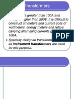 Instrument Transformers Presentation2011-2