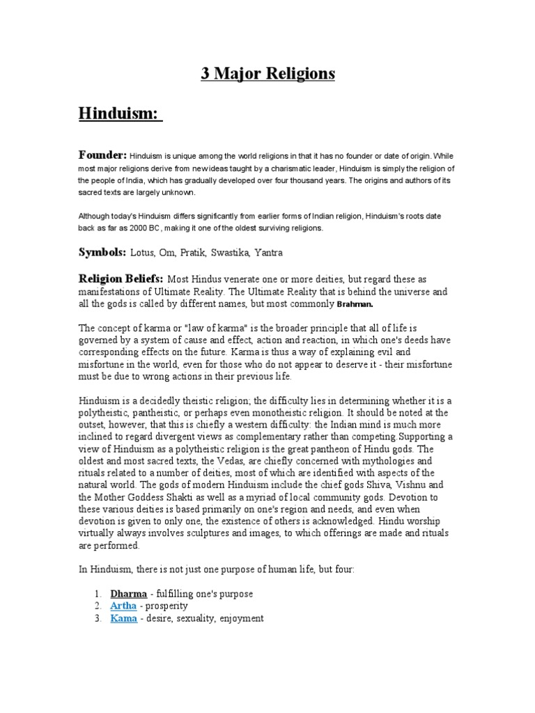 3 Major Religions Halakha Mitzvah