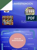 Maria Diaz-tipos de Investigacion