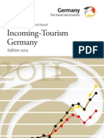 Incoming tourism in Germany - 2012 Edition