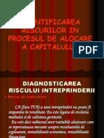 Cuantificarea Riscurilor in Procesul de Alocare a Capitalului