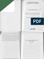 Escritos sobre lingüística general - Ferdinand de Saussure