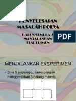 Lakon Semula & Jalankan Eksperimen