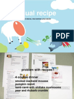 Presentation Recipe Visualizer