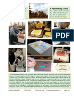 Papermaking and Its Decorative Uses