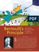 Lift - Bernoulli Principle