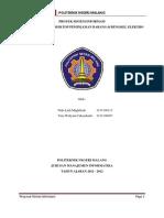 Proyek Sistem Informasi