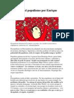 Decálogo del populismo por Enrique Krauze