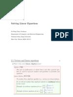 linear algebra course part 2