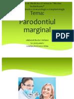 Parodontiul Marginal