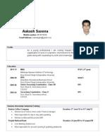 Aakash Saxena1