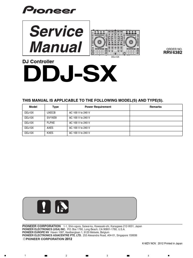 pioneer ddj sx soldering solder rh scribd com