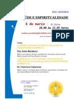 Mini-seminário sobre saúde e espiritualidade