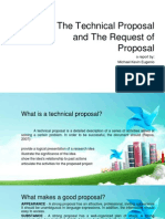 PPT the Technical Proposal and the Request of Proposal