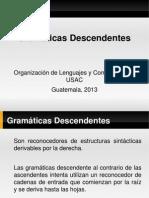 Gramaticas Descendentes