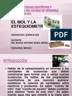 EL MOL Y LA ESTEQUIOMETRÍA
