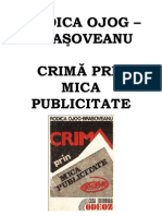 Rodica Ojog-Brasoveanu - Crima Prin Mica Publicitate