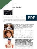 One Direction Amelie He Lei Neeta Pol Line Marie