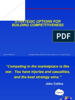 Strategic Options for Building Competitiveness