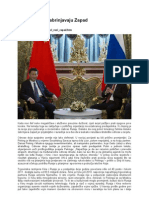 Kinezi i Rusi zabrinjavaju Zapad