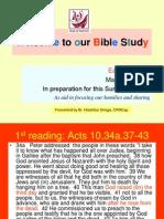Renungan Paskah 2013