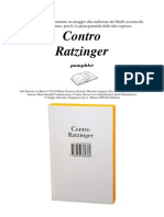Anonimo - Contro Ratzinger (Ita Libro)