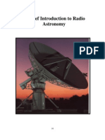 Brief Introduction to Radio Astronomy