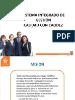 SISTEMA INTEGRADO DE GESTIÓN 2