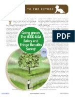 The IEEE-USA Salary and Fringe Benefits Survey Going Green