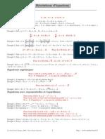 Form Equations